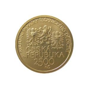 2 500 Kč Kulturní památka hamr v Dobřívě - Špičková kvalita (proof)
