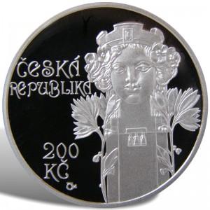 200 Kč Otevření Obecního domu v Praze - špičková kvalita (proof)