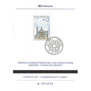 PLZ 6 - Ohlédnutí za výstavou Pražský hrad v umění poštovní známky