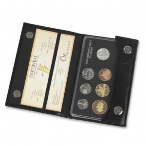 Sada oběžných mincí 2011 proof - kůže