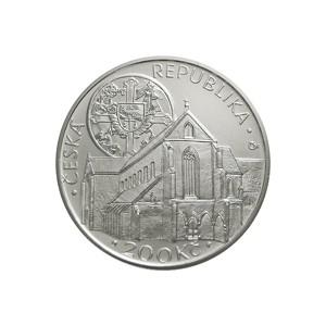 200 Kč Založení klášteru Zlatá koruna - běžná kvalita (bk)