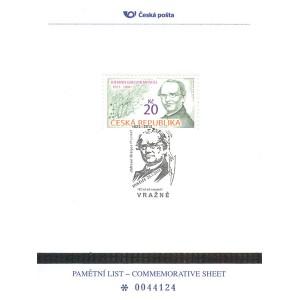 PLZ 20 -  Johann Gregor Mendel (1822 - 1884)