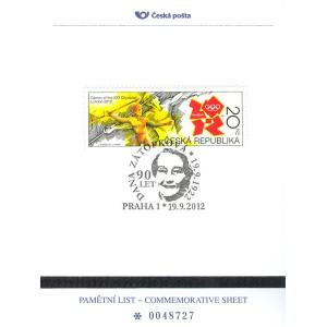 PLZ 22 -  90. výročí narození Dany Zátopkové