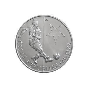 200 Kč Josef Bican - špičková kvalita (proof)