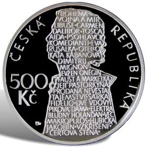 500 Kč Beno Blachut - špičková kvalita (proof)