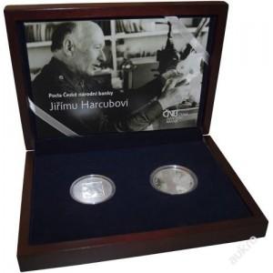 2014 Sada  - 200 Kč mince 17. listopad 1989 a medaile Václav Havel - špičková kvalita (proof)