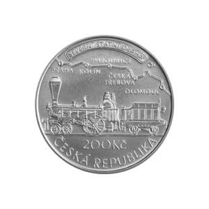 200 Kč - Jan Perner - špičková kvalita (proof)