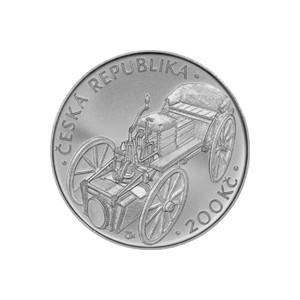 200 Kč - Josef Božek - špičková kvalita (proof)