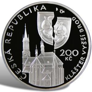 200 Kč Petr Vok z Rožmberka - špičková kvalita (proof)