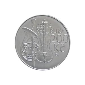 200 Kč Zahájení výuky na pražské konzervatoři - běžná kvalita (bk)