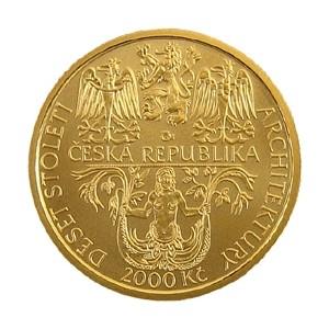 2 000 Kč Renesance zámek v Litomyšli - běžná kvalita (bk)