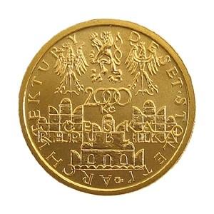 2 000 Kč Pozdní renesance štíty domů ve Slavonicích - Špičková kvalita (proof)
