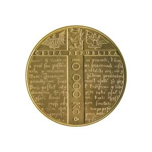 10 000 Kč Jan Hus - Špičková kvalita (proof)
